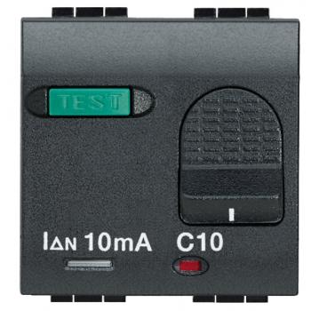 «Salvavita» двухполюсный дифференциальный автоматический выключатель,  номинальный ток 16 А