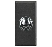 Перключатель промежуточный кнопочный  STYLE,  1модуль