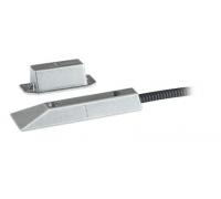 Электромагнитный контакт (NC) и защитная линия – алюминий, для поворотных или раздвижных дверей