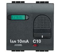 «Salvavita» двухполюсный дифференциальный автоматический выключатель, номинальный ток 10 А