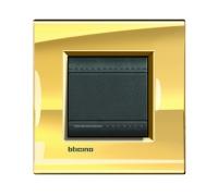 Декоративная рамка прямоугольной формы  Золото