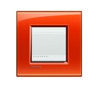 Декоративная рамка прямоугольной формы Оранжевый  поликарбонат