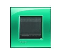 Декоративная рамка прямоугольной формы Зеленый поликарбонат