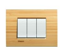 Декоративная рамка прямоугольной формы  Бамбук