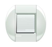 Декоративная рамка овальной формы  Белый