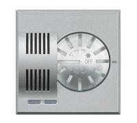 Датчик комнатной температуры систем отопления и охлаждения в диапазоне от 3-40°С с ручкой для установки температуры
