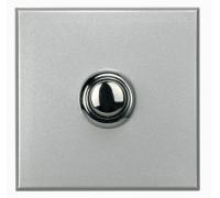Выключатель кнопочный STYLE, 2 модуля,