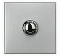 Переключатель промежуточный кнопочный  STYLE, 2 модуля